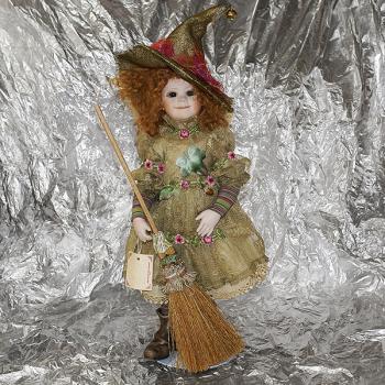 """Кукла """"Маленькая ведьма"""""""