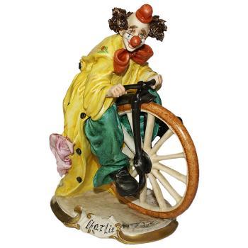 """Статуэтка """"Клоун на велосипедном колесе"""""""