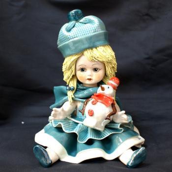 """Статуэтка """"Кукла-зима"""""""