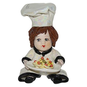 "Статуэтка ""Повар со спагетти"""