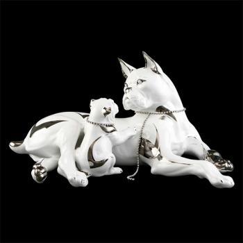 "Статуэтка ""Собака со щенком"""