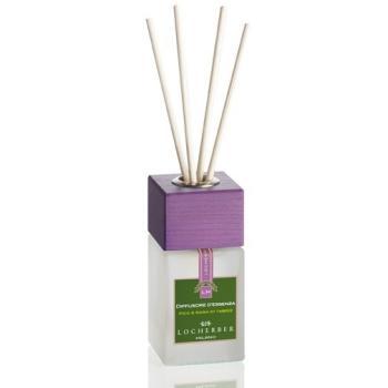 Ароматизатор воздуха жидкий в комплекте с бамбуковыми палочками «Инжир и роза Тебриза» 100 мл