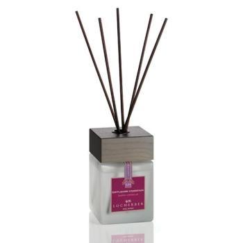 Ароматизатор воздуха жидкий в комплекте с бамбуковыми палочками «Темная ваниль» 100 мл