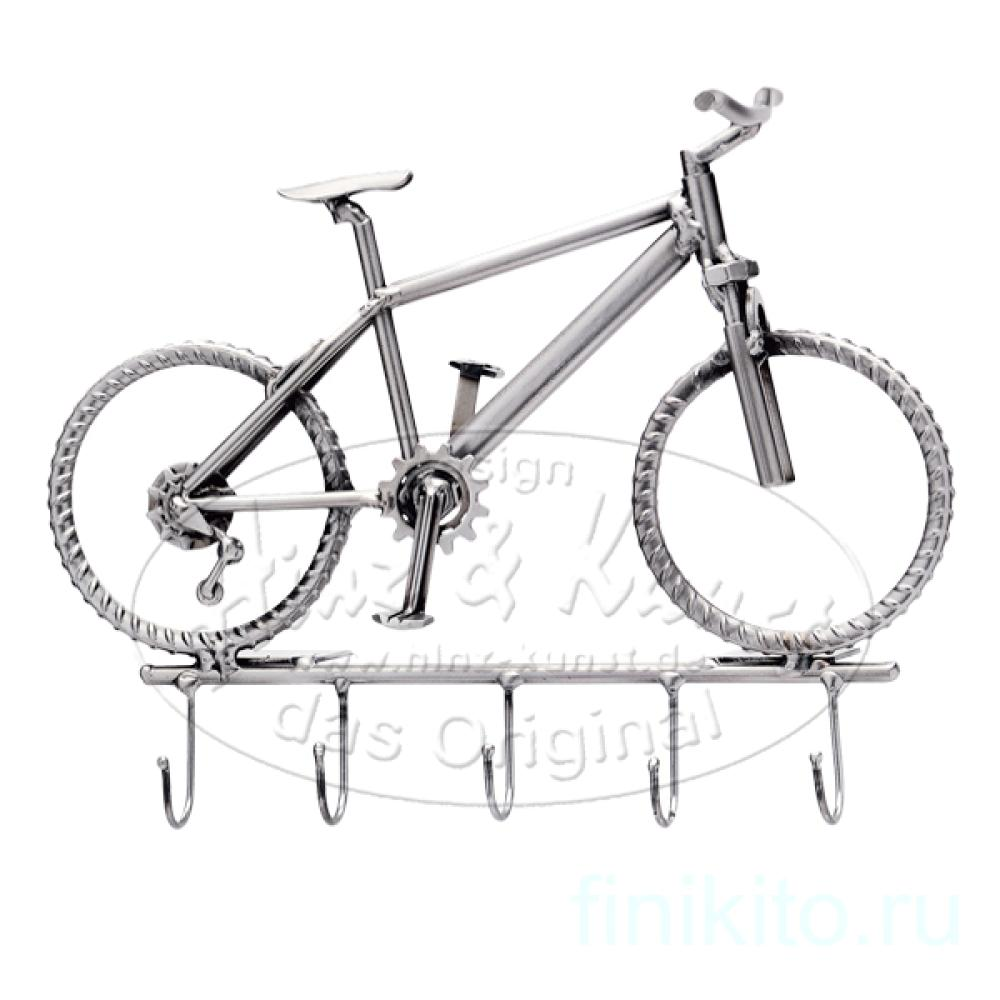 Велосипед - вешалка