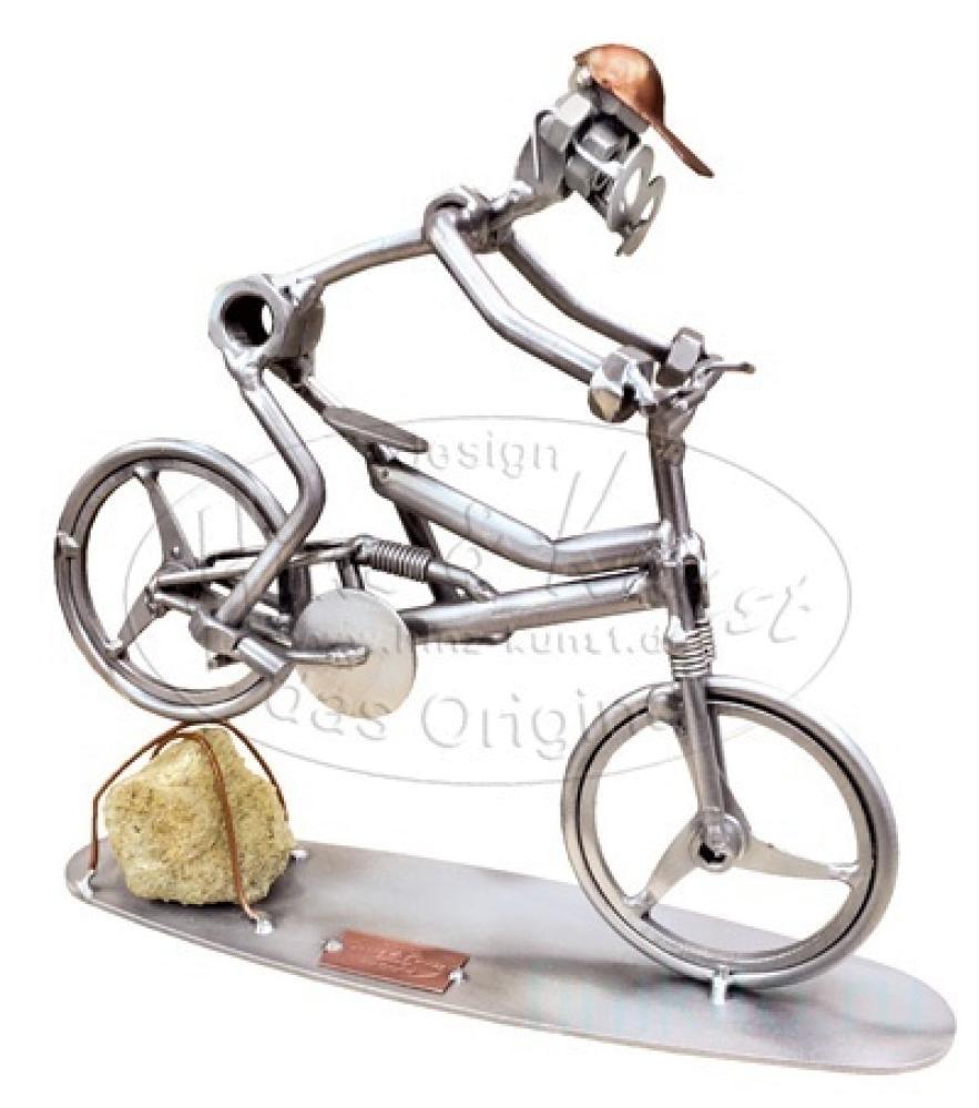 Горный велосипед, спуск