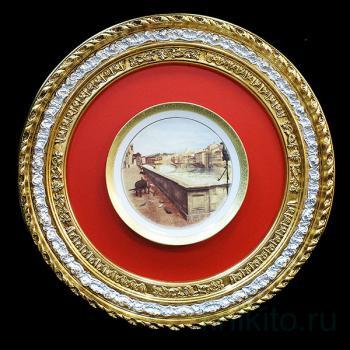 "Декоративная тарелка ""ВЕНЕЦИАНСКИЙ МОСТ"""
