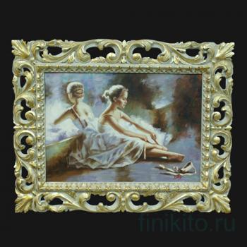 """Картина """"Балерина у зеркала"""""""