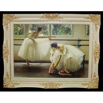 """Картина """"Балерины у станка"""""""