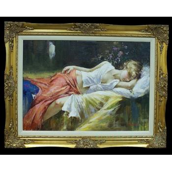 """Картина """"Спящая девушка"""""""