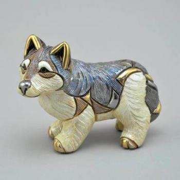 Керамическая статуэтка Волк