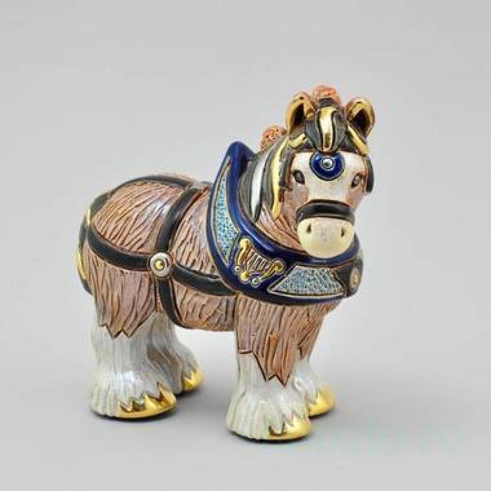 Керамическая статуэтка Лошадь тяжеловоз