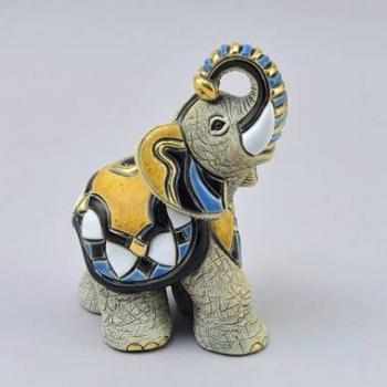Керамическая статуэтка Слон Азиатский