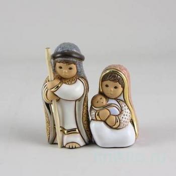 Керамическая cтатуэтка Иосиф и дева Мария