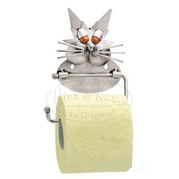 Кот - держатель для туалетной бумаги