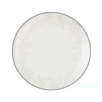 "Набор тарелок ""Белый лотос"""