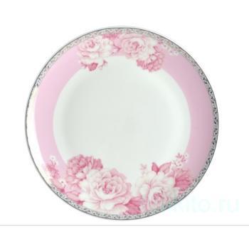 """Набор тарелок """"Пион"""" 20 см"""
