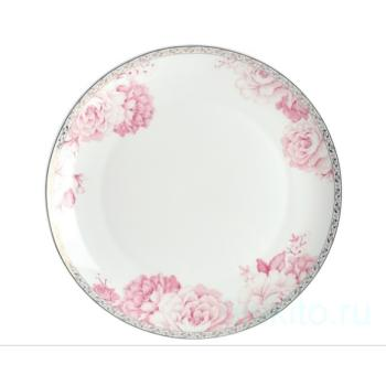 """Набор тарелок """"Пион"""" 25,5 см"""