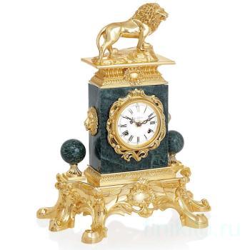 Настольные часы со львом