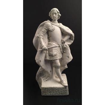 """""""Пётр Первый"""" - белый цвет, статуэтка из фарфора от ALFREDO LLORENS (Испания)"""