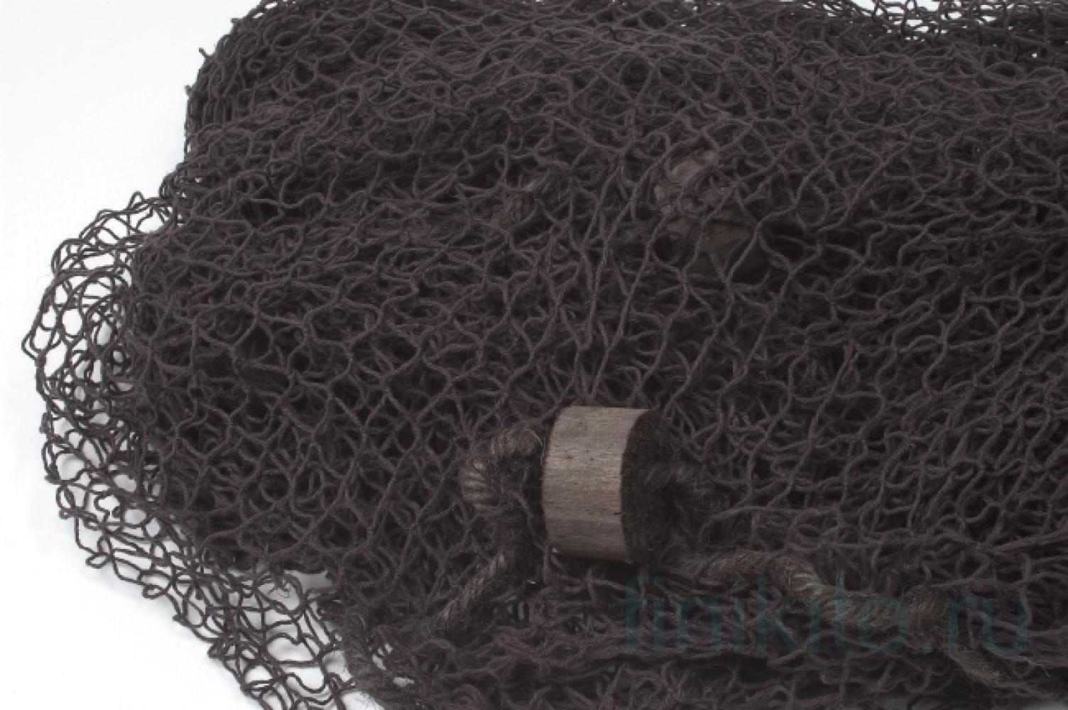 Сеть рыболовная коричневая, 170х170 см
