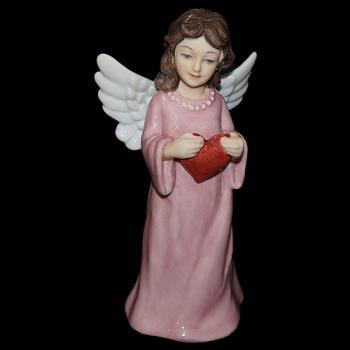 """Статуэтка """"Ангел-хранитель с сердцем"""""""