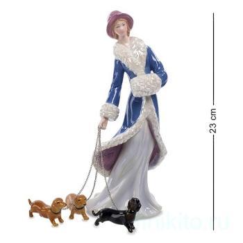 """Статуэтка """"Дама с собаками"""" 102072 Pavone"""