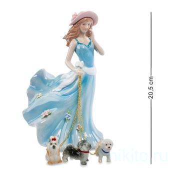 """Статуэтка """"Дама с собаками"""" 107364 Pavone"""