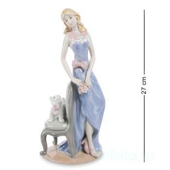 "Статуэтка ""Дама с собакой"" 102070 Pavone"