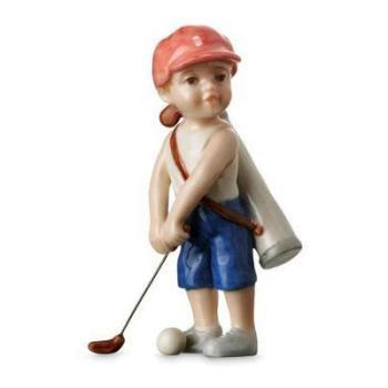 """Статуэтка """"Мальчик с клюшкой для гольфа"""""""