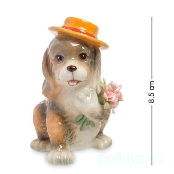 "Статуэтка ""Собака с букетом"" 107947 Pavone"