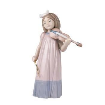 """Статуэтка NAO """"Девочка со скрипкой"""""""