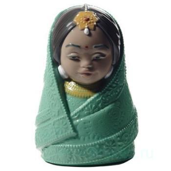 "Статуэтка NAO ""Куклы мира (Индия)"""