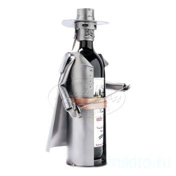 Украшение для бутылки «Зорро»