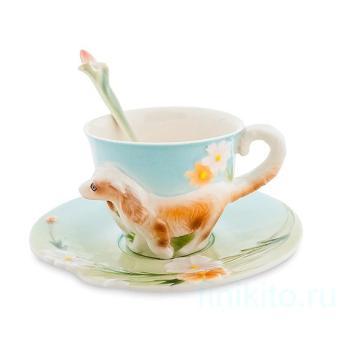 """Чайная пара """"Спаниель"""" 105923 Pavone"""