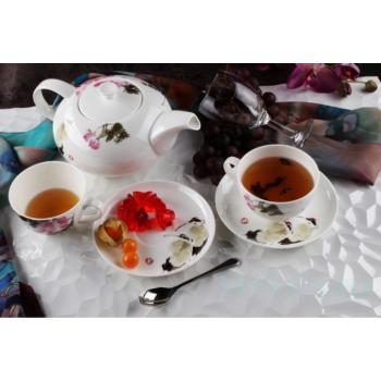 """Чайный сервиз """"Дикая роза"""""""