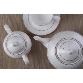 """Чайный сервиз """"Пион белый"""""""