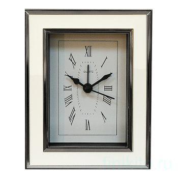 """Часы-будильник """"WHITE EPOXY"""""""