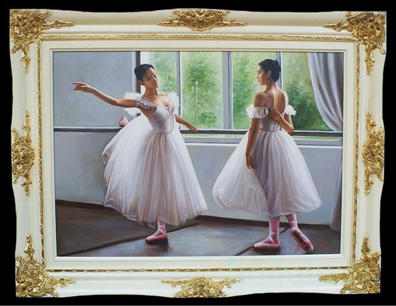"""Картина """"Балерины на репетиции"""""""