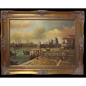 """Картина """"Венецианская пристань"""""""