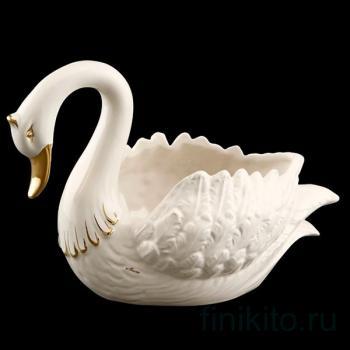 """Чаша для фруктов """"Лебедь"""""""