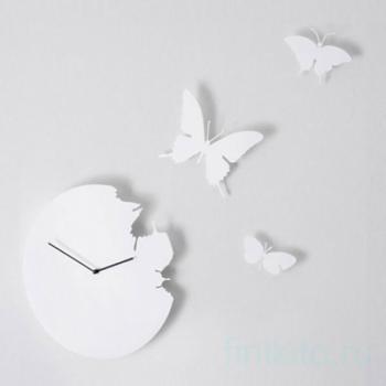 """Часы настенные """"Бабочки"""""""