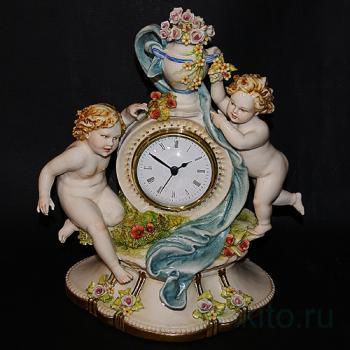 Часы с ангелочками