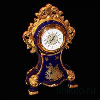 Часы синие