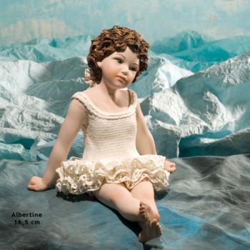 """Фарфоровая кукла """"Альбертина"""""""