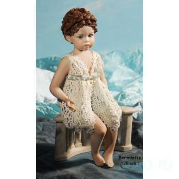 """Фарфоровая кукла """"Benedetta"""""""