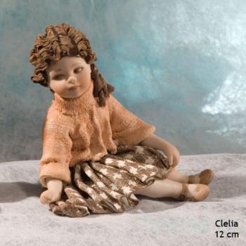 "Фарфоровая кукла ""Clelia"""