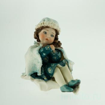 """Фарфоровая кукла """"Inverno"""""""