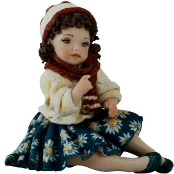 "Фарфоровая кукла ""Lalla"""
