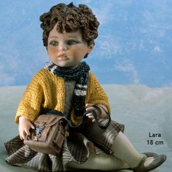 "Фарфоровая кукла ""Lara"""