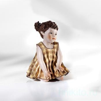 """Фарфоровая кукла """"Malinconia"""""""